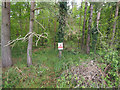 TL8899 : No entry forestry work in progress by David Pashley
