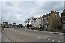 SK5838 : Radcliffe Road: Lady Bay traffic lights by John Sutton
