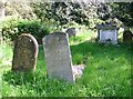 TG2408 : Leaning gravestones by Evelyn Simak