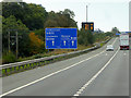 NS7877 : M80 Motorway near to Castlecary by David Dixon