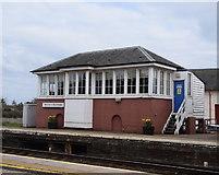 NO8686 : Stonehaven signal box by Bill Harrison