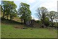 SE0336 : Derelict Farmhouse above Bridgehouse Beck by Chris Heaton