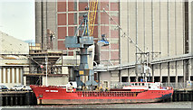 "J3576 : The ""CEG Universe"", Belfast harbour - April 2019(2) by Albert Bridge"