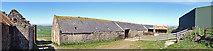 NJ8565 : Pennan Farm by Anne Burgess