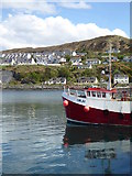 NM6797 : A fishing boat in Mallaig Harbour by Rod Allday