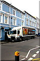 ST3088 : The Thomas Waghorn Chatham in Bridge Street, Newport by Jaggery