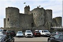 SH5831 : Harlech Castle by Michael Garlick