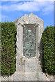 NX6248 : Memorial to William Nicholson Poet, Borgue by Billy McCrorie