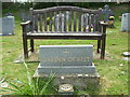 ST3241 : Garden of Rest at St Michael's by Neil Owen
