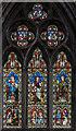 SE5703 : Window n.9, Doncaster Minster by Julian P Guffogg