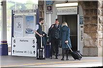 SX9193 : GWR staff by Andrew Abbott