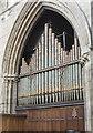 SE5703 : Part of the Organ, Doncaster Minster by Julian P Guffogg
