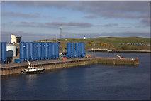 NJ9505 : Storage tanks at the Tidal Harbour by Robert Eva