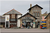 SX2553 : Watch Tower Studio and former Lifeboat Station, Looe by Andrew Abbott