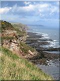 NT9955 : Coastal scenery near Needles Eye by Andrew Curtis