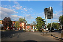 SP5074 : Roundabout on Hillmorton Road, Rugby by David Howard