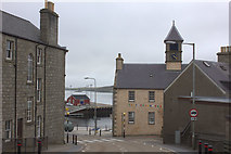 HU4741 : Harbour end of Church Road, Lerwick by Robert Eva