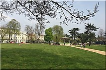 SP3165 : Spring comes to the refreshed Pump Room Gardens, Leamington by Robin Stott