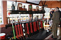 SO8376 : Severn Valley Railway - Wrangaton signal box by Chris Allen