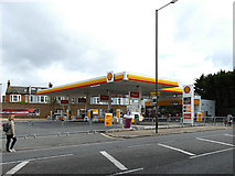 TQ4077 : Shell station on Shooters Hill Road by Stephen Craven