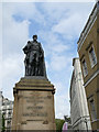 TQ3080 : Duke of Devonshire statue, Horse Guards Avenue by Stephen Craven