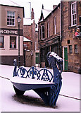 NU1813 : Alnwick: a corner of the Market Place by John Sutton