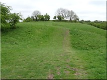 SP1566 : The site of Beaudesert Castle by Philip Halling