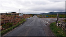 NC5709 : The junction of the A836 and A838 roads at Dalchork by John Lucas
