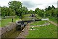 SO9163 : Hanbury Locks in Worcestershire by Roger  Kidd
