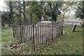 SU3784 : Fenced vault by Bill Nicholls