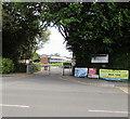 SU3002 : Entrance to Brockenhurst College, Brockenhurst by Jaggery