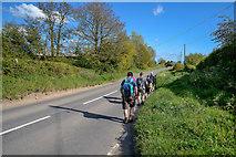 SS5726 : North Devon : The A377 by Lewis Clarke