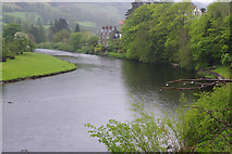 SJ1143 : River Dee, Carrog by Stephen McKay