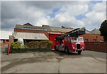 SD8912 : Greater Manchester Fire Service Museum by Gerald England