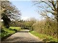 TG0937 : Bend  in  Hempstead  Road  toward  Holt by Martin Dawes