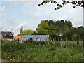 TM4978 : Solar Panels at The Elms Farm by Adrian Cable