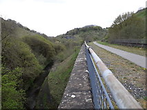 SK1272 : Chee Dale: river and old railway run parallel by Chris Downer