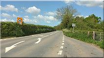 SS5726 : A377 at Chapelton Cross by Derek Harper
