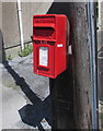 SN5747 : Queen Elizabeth II postbox, Bridge Street, Lampeter by Jaggery