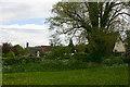 TL9650 : View of Kettlebaston from churchyard by David Kemp