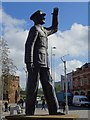 SP3379 : Statue of Sir Frank Whittle by Philip Halling