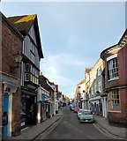 TQ9220 : High Street, Rye by Simon Carey