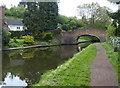 SO8582 : Whittington Horse Bridge No 28 by Mat Fascione