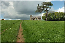 SX7546 : St Peter's Church, Buckland-Tout-Saints by Derek Harper