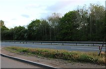 SP8040 : Parking area on the A5, Wolverton by David Howard