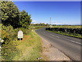 SD4840 : St Michael's Road towards Myerscough by David Dixon