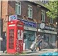 TQ3572 : K2 Telephone Kiosk, Forest Hill by PAUL FARMER