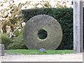 TQ7416 : Battle Windmill Millstone by John P Reeves