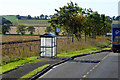 NO4136 : Bus Stop on the Southbound A90 by David Dixon