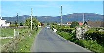 J0516 : Finegan's Road approaching the Aghadavoyle turnoff by Eric Jones